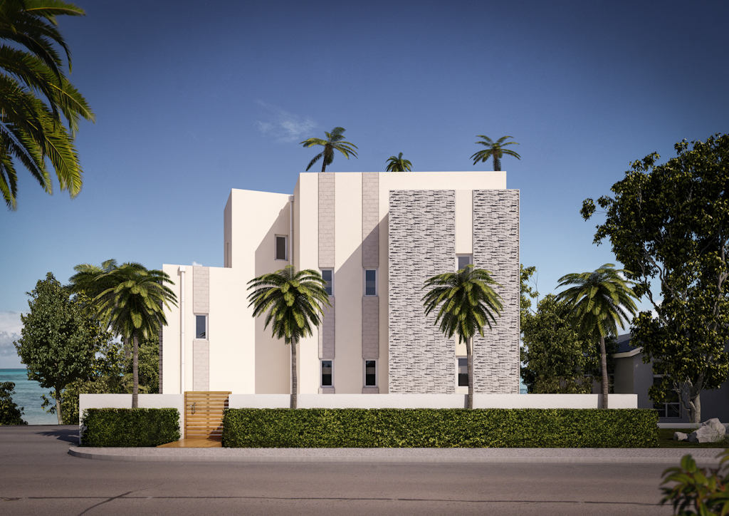 Barbados Road Side Architectural Visualisation by RedWhite Creative Agency Bournemouth