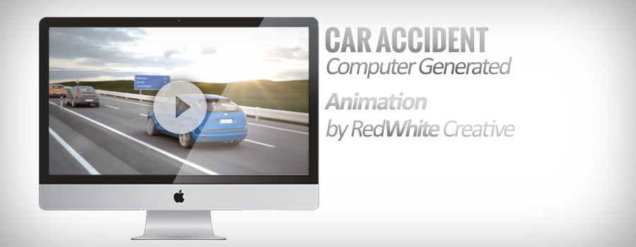 Computer generated car accident animation. This animation is created to be used as a proof in a court, Turkey Check out the animation project by clicking the link below http://vimeo.com/52993221 RedWhite...