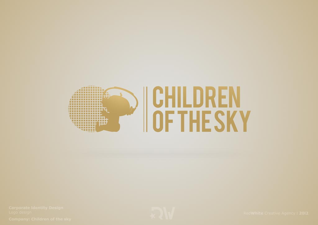 Children-of-the-sky-logo-design-RedWhite-Creative-Agency